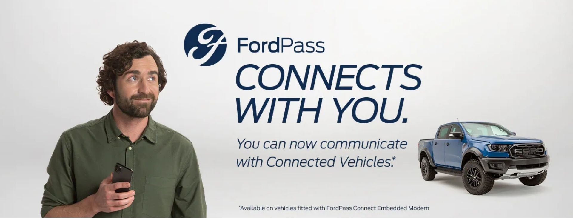 FordPass. Connects With You.