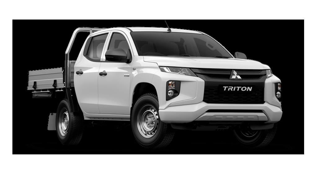 2021 MY20 Mitsubishi Triton MR GLX Double Cab Chassis 4WD Cab chassis - dual cab