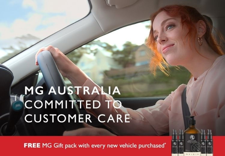 Free MG Gift pack with every new vehicle purchased*