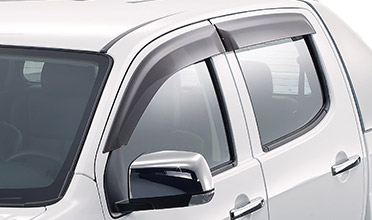 Front and Rear Slimline Weathershields