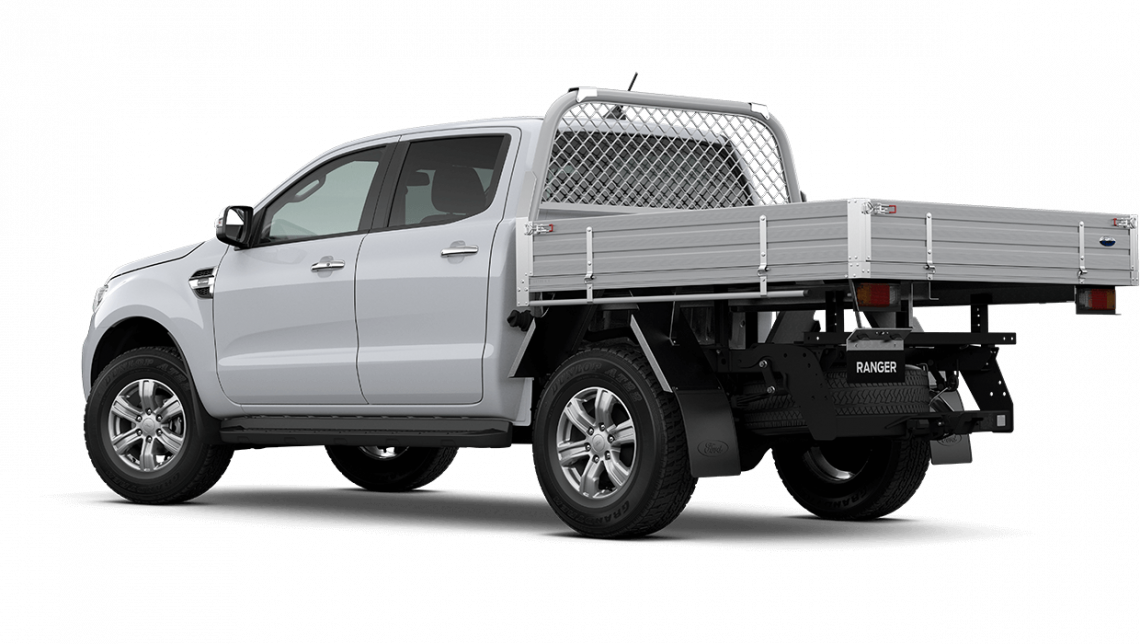 2020 MY21.25 Ford Ranger PX MkIII XLT Double Cab Chassis Cab chassis Image 6