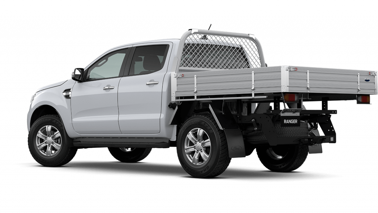 2020 MY21.25 Ford Ranger PX MkIII XLT Double Cab Chassis Utility Image 6