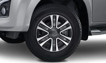 "<img src=""Two-tone 17"" Alloy Wheels"