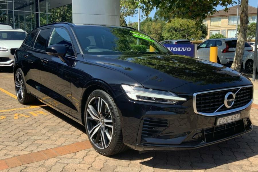2019 MY20 Volvo V60 225 MY20 T8 PHEV R-Design (Hybrid) Wagon