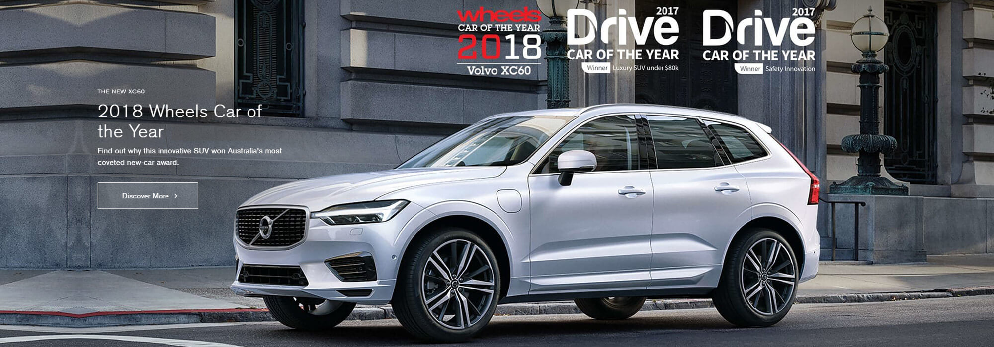 XC60 - Wheels Car of the Year 2018