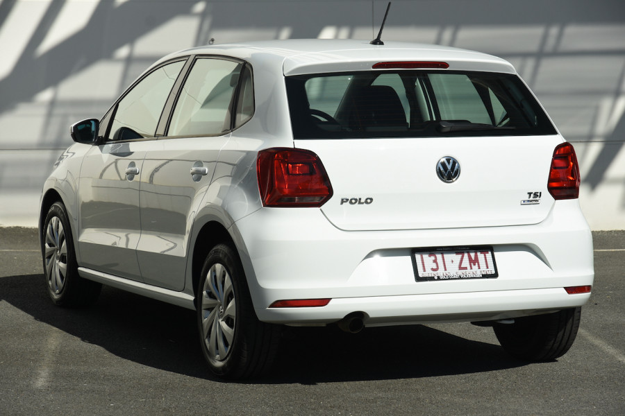 2016 Volkswagen Polo 6R MY16 66TSI Hatch