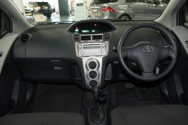 2010 Toyota Yaris NCP90R  YR Hatchback