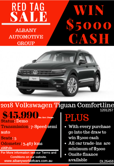 2018 VW Tiguan Comfortline