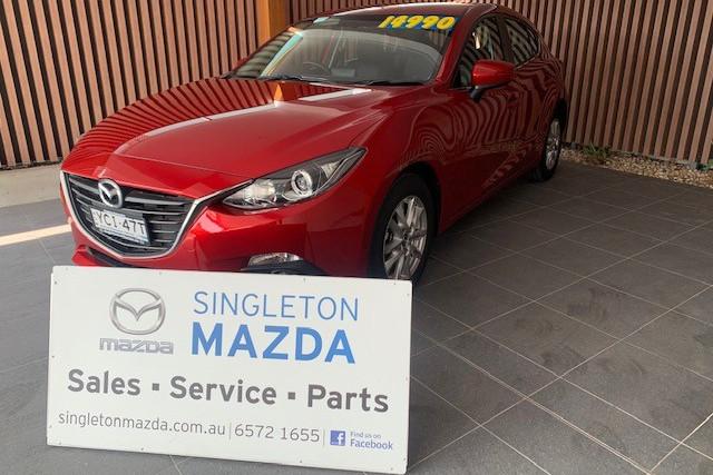 2015 Mazda 3 BM5476 Hatchback
