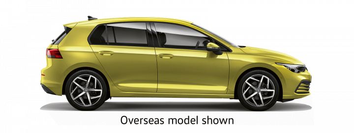 New Volkswagen Golf 8 coming soon