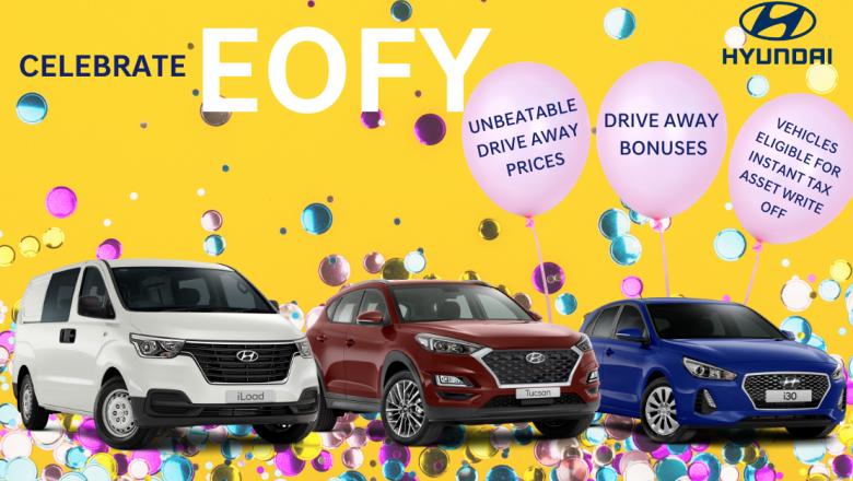 Celebrate EOFY with Frizelle's Hyundai