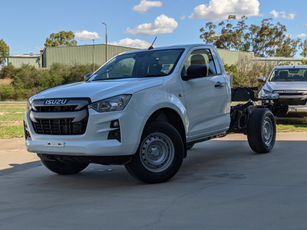 2021 Isuzu UTE D-MAX RG SX 4x2 Single Cab Chassis Cab chassis