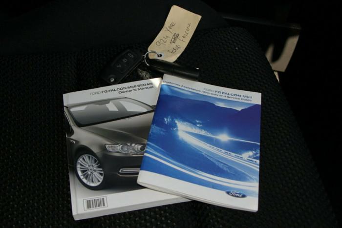 2012 Ford Falcon FG MkII XR6 Turbo Sedan