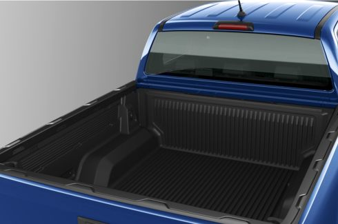 """<img src=""""Bed rail cover (for vehicles fitted with bed liner)"""