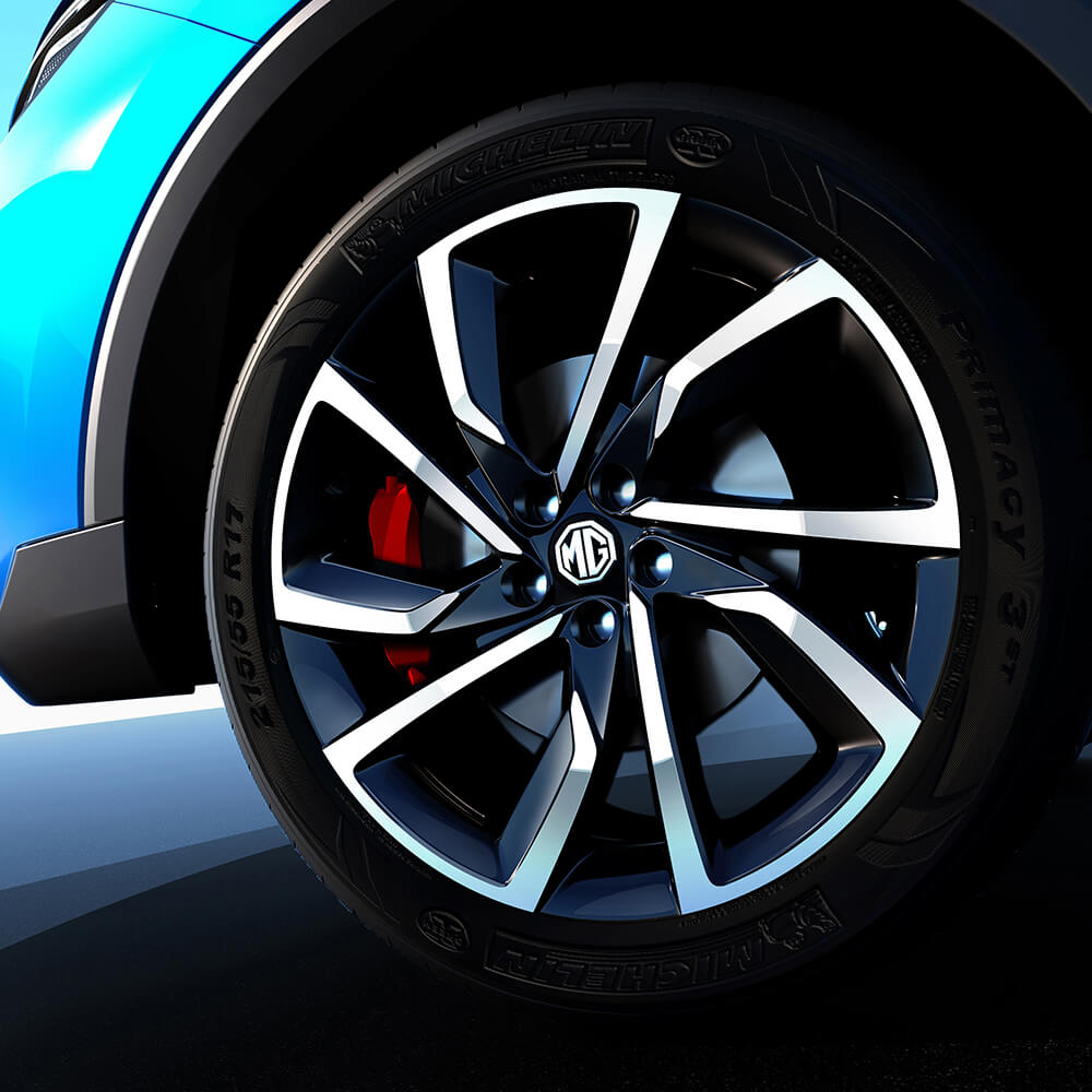 Two-Tone alloy wheels