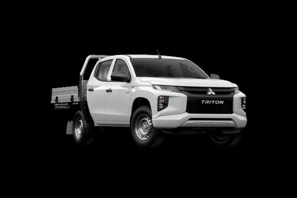 2021 Mitsubishi Triton MR GLX ADAS Double Cab Chassis 4WD Utility