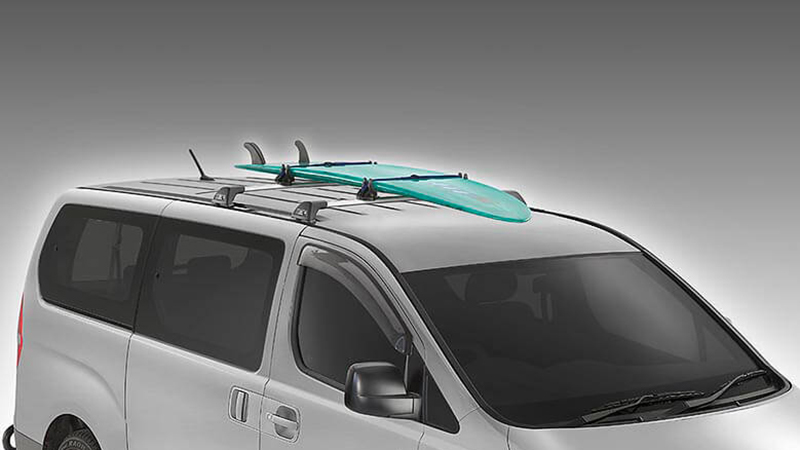Surfboard carrier.