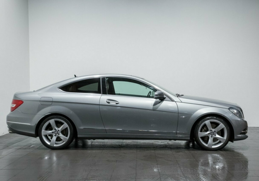 2011 Mercedes-Benz C350 W204 MY11 BE Coupe