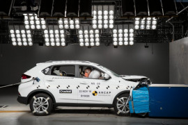 MG GS now 5 stars for safety