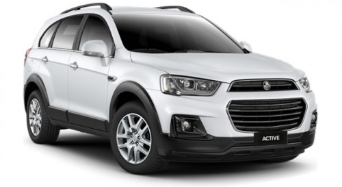 2018 Holden Captiva CG Active 7 Seats 7 seat wagon