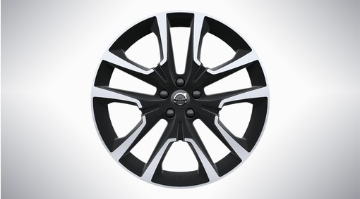 "20"" 5-Double Spoke Matt Black Diamond Cut Alloy Wheel - W007"