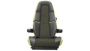 The new Volvo FH16 Unique seat design.