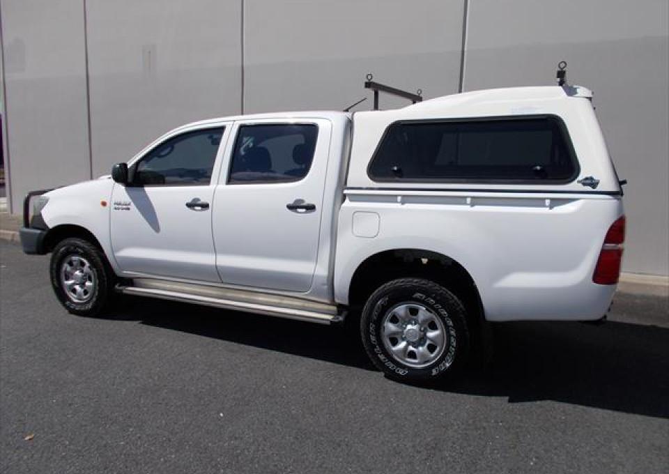 2012 Toyota HiLux KUN26R  SR Utility - dual cab