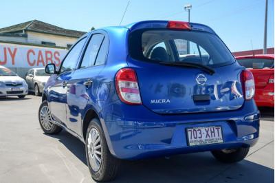 2014 Nissan Micra K13 MY13 ST Hatchback Image 3