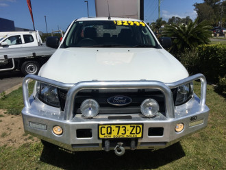 2014 Ford Ranger PX Turbo XL 4x4 c/c chassis