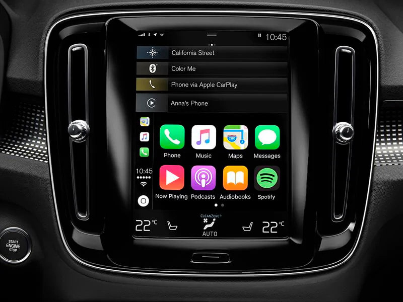 Your car and phone, as one Image