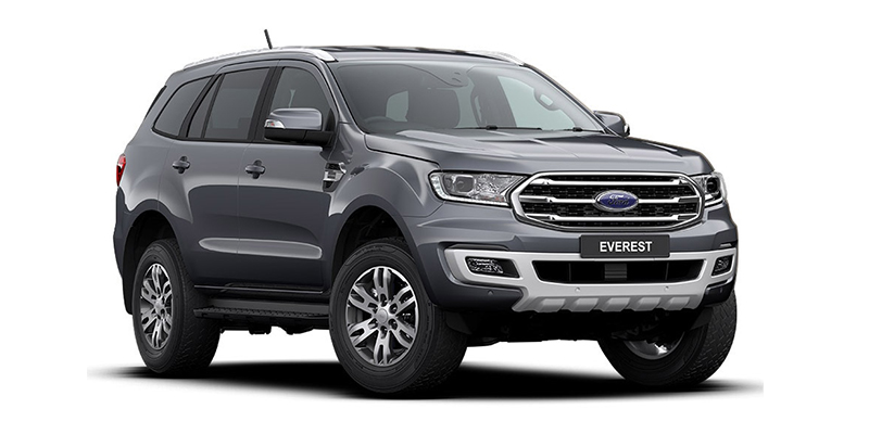2019 MY20.25 Ford Everest UA II Trend 4WD Suv