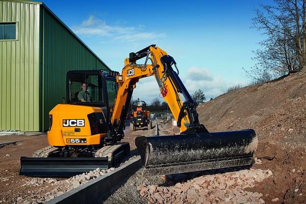 2021 JCB 55Z-1 Excavator (No Series) 55Z-1 Excavator Image 2