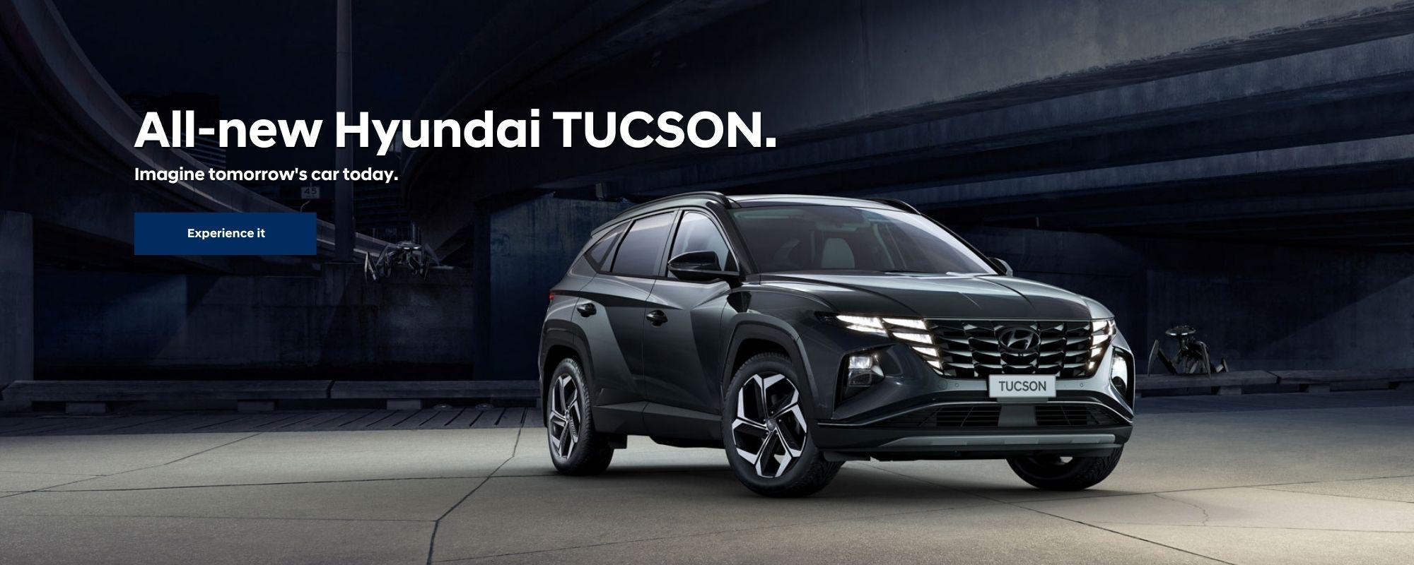 All-new Hyundai TUCSON.
