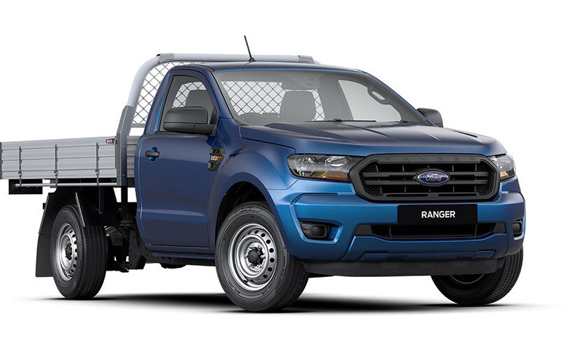 2020 MY20.25 Ford Ranger PX MkIII 4x2 XL Single Cab Chassis Low-Rider Utility