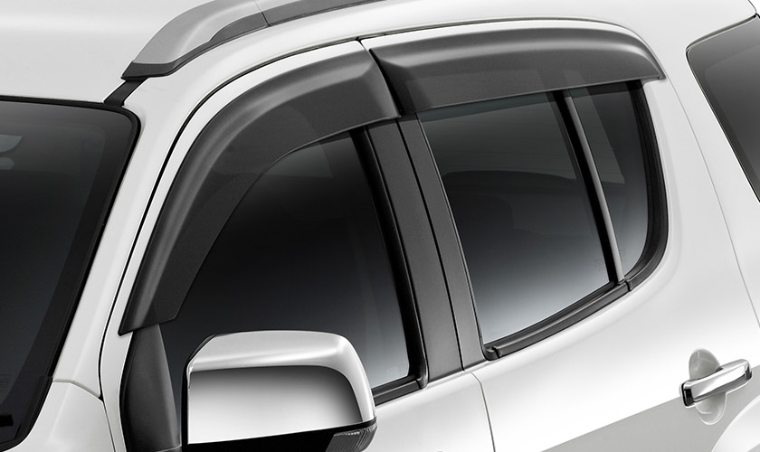 Front and Rear Slimline Weather Shields