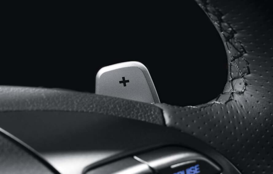IONIQ Plug-In Hybrid Regenerative braking.