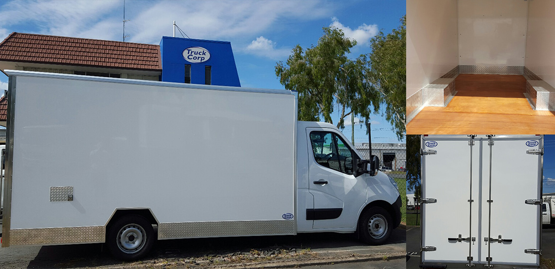 New European style for Renault low height cab chassis