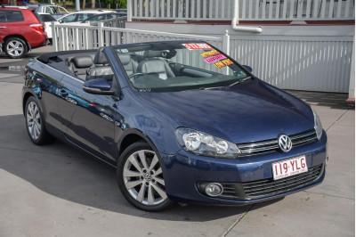2011 Volkswagen Golf VI MY12 118TSI Cabriolet Image 2