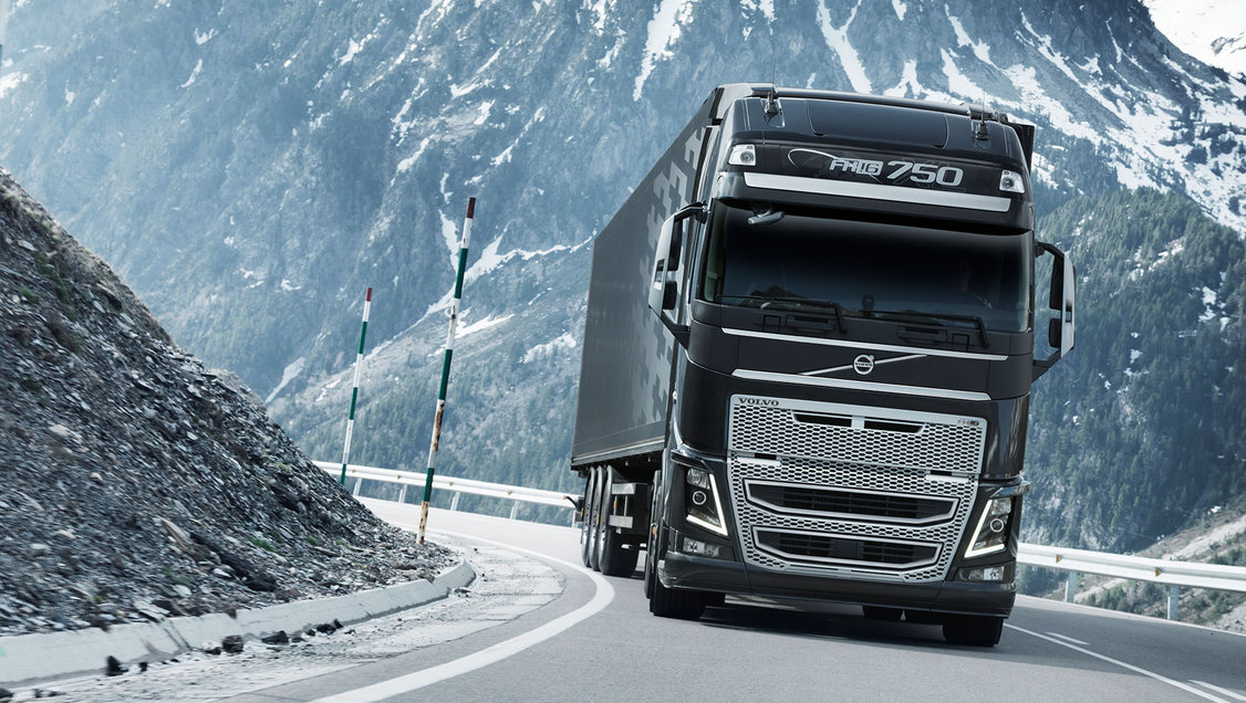 The new Volvo FH16 Just drive