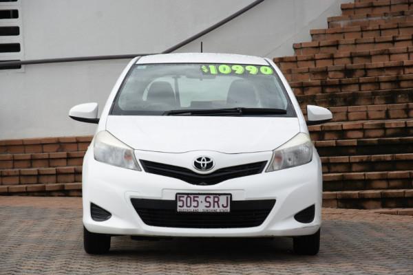 2012 Toyota Yaris NCP130R YR Hatchback Image 2