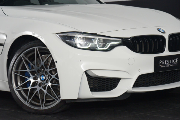 2018 BMW M3 Bmw M3 Competition Auto Competition Sedan Image 2