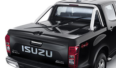 Lockable 3 Piece Hard Tonneau Cover