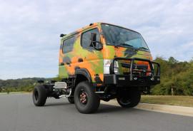 Fuso Canter Toy Hauler 4X4 CREW CAB