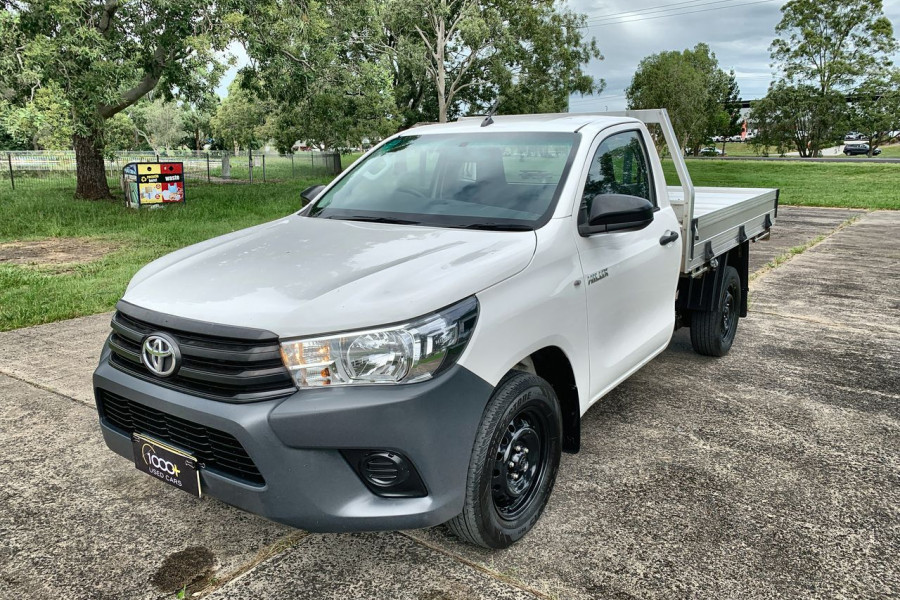 2018 MY17 Toyota HiLux GUN122R Workmate Cab chassis