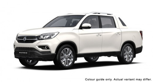 2018 SsangYong Musso Q200 EX Utility