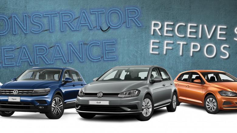 Volkswagen Demo Sale