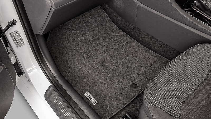 Tailored carpet floor mats (set of 4).