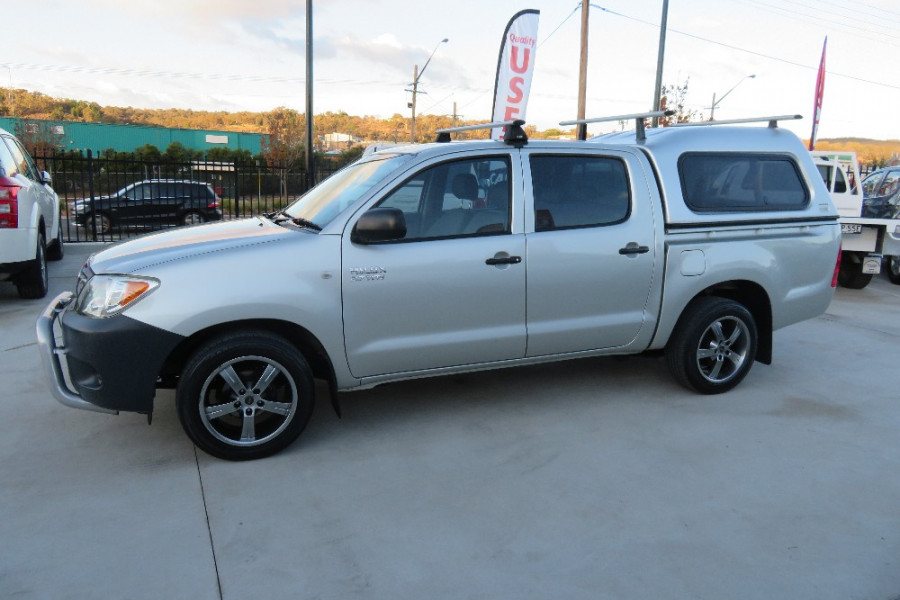 2007 Toyota HiLux TGN16R  Workmate Utility