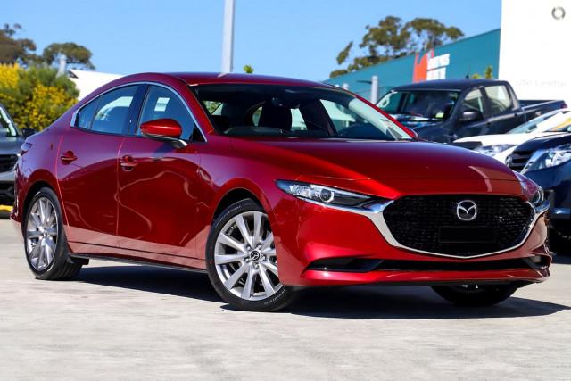2019 MY18 Mazda 3 BN SP25 GT Sedan Sedan