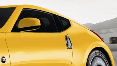 370Z Up-swept rear quarter window